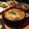 名古屋の高いところで、うま??い鶏料理をしこたま食いました。