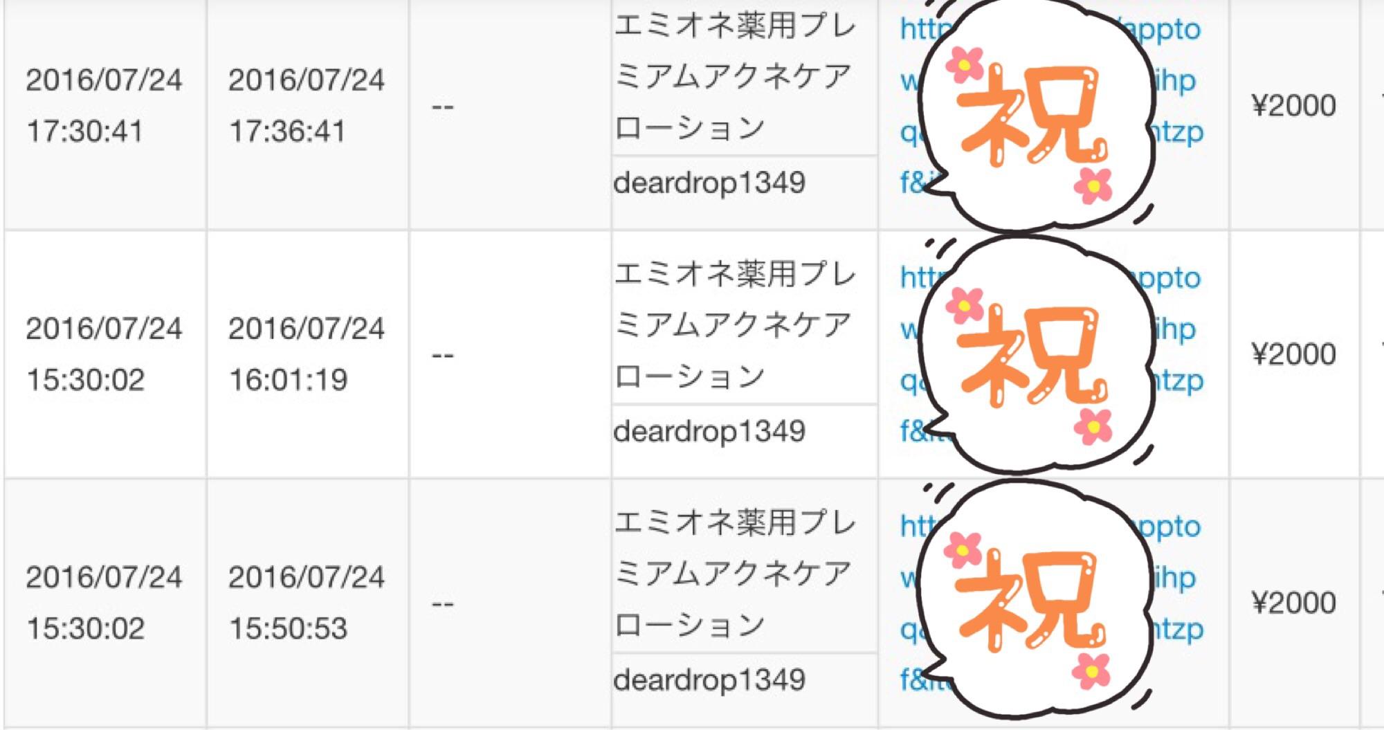 エミオネが3つもいきなり売れて日給14100円です。